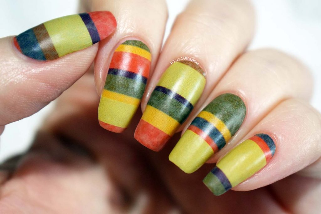 Espionage Cosmetics Seven Seasons Long Doctor Who nerdy nail wraps