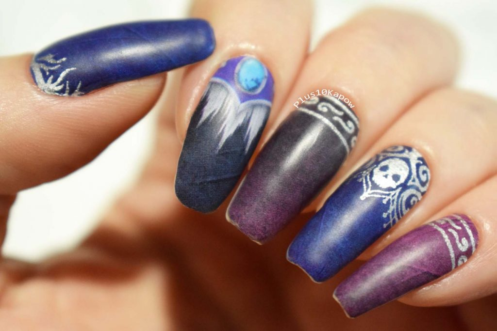 Espionage Cosmetics Banshee Queen Sylvanas World of Warcraft nerdy nail wraps