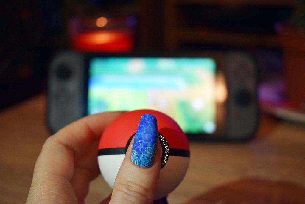 Espionage Cosmetics Kanto Adventurer Pokemon Squirtle nerdy nail wraps