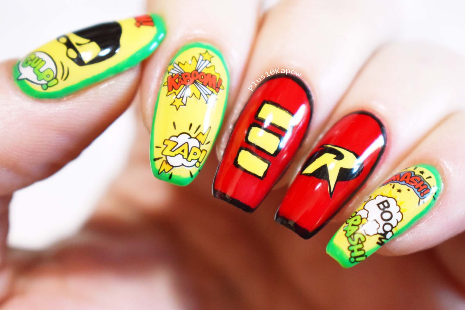 Boy Wonder Robin nails Plus10Kapow