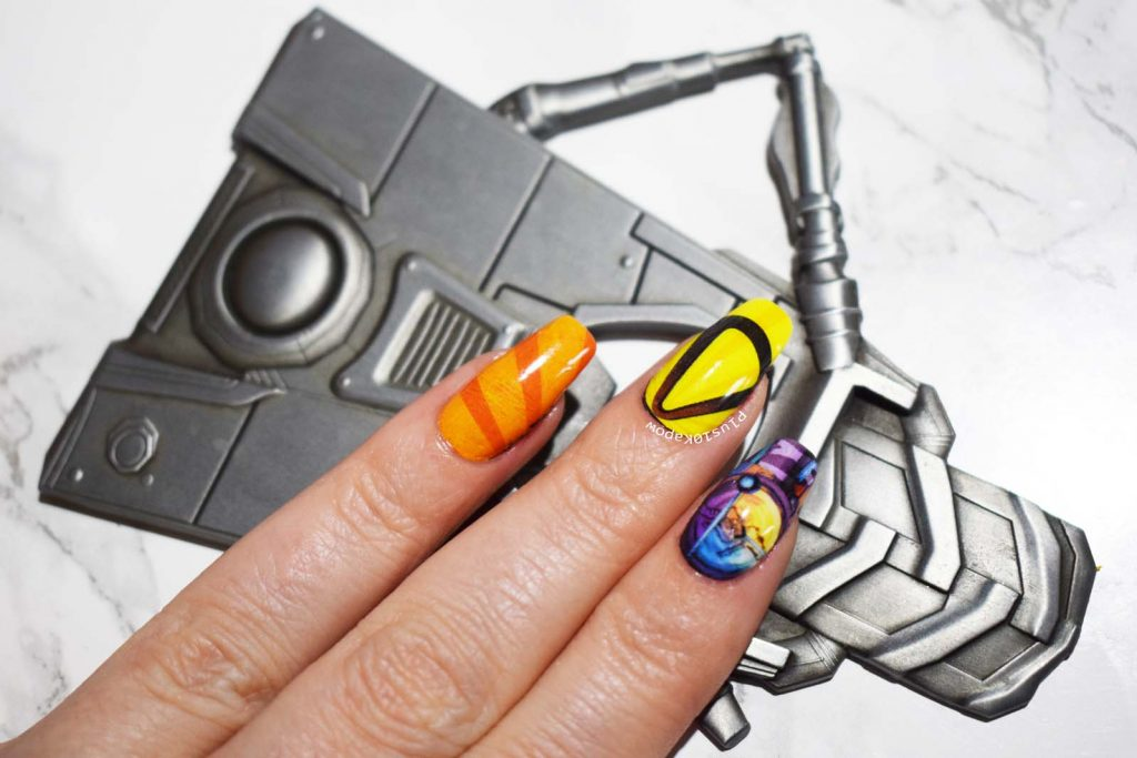 Borderlands 3 Espionage Cosmetics Nail Wraps Nerdy Gamer Nails