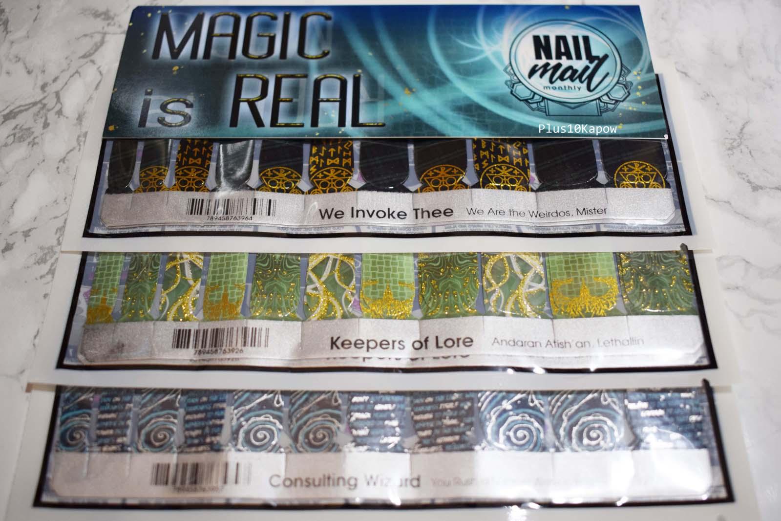 Espionage Cosmetics Nail Mail Monthly Plus10Kapow