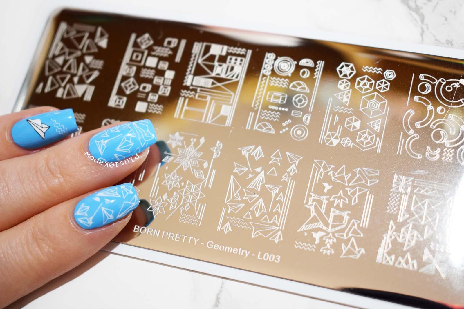 Born Pretty Store L003 stamping plate