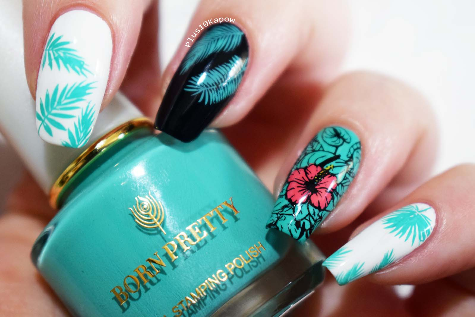 Born Pretty Ariel stamping polish