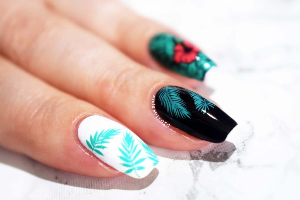 Born Pretty Store Summer Series Stamping Polish AC06 Ariel Mermaid