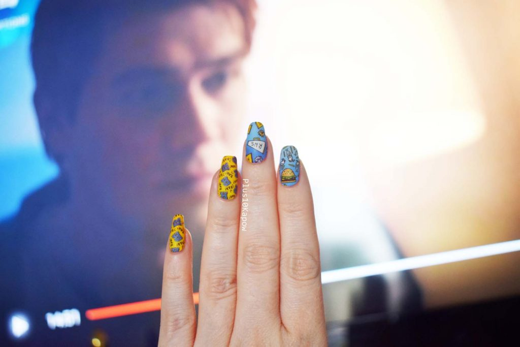 Espionage Cosmetics Archie Gang Riverdale Nail Wraps Plus10Kapow