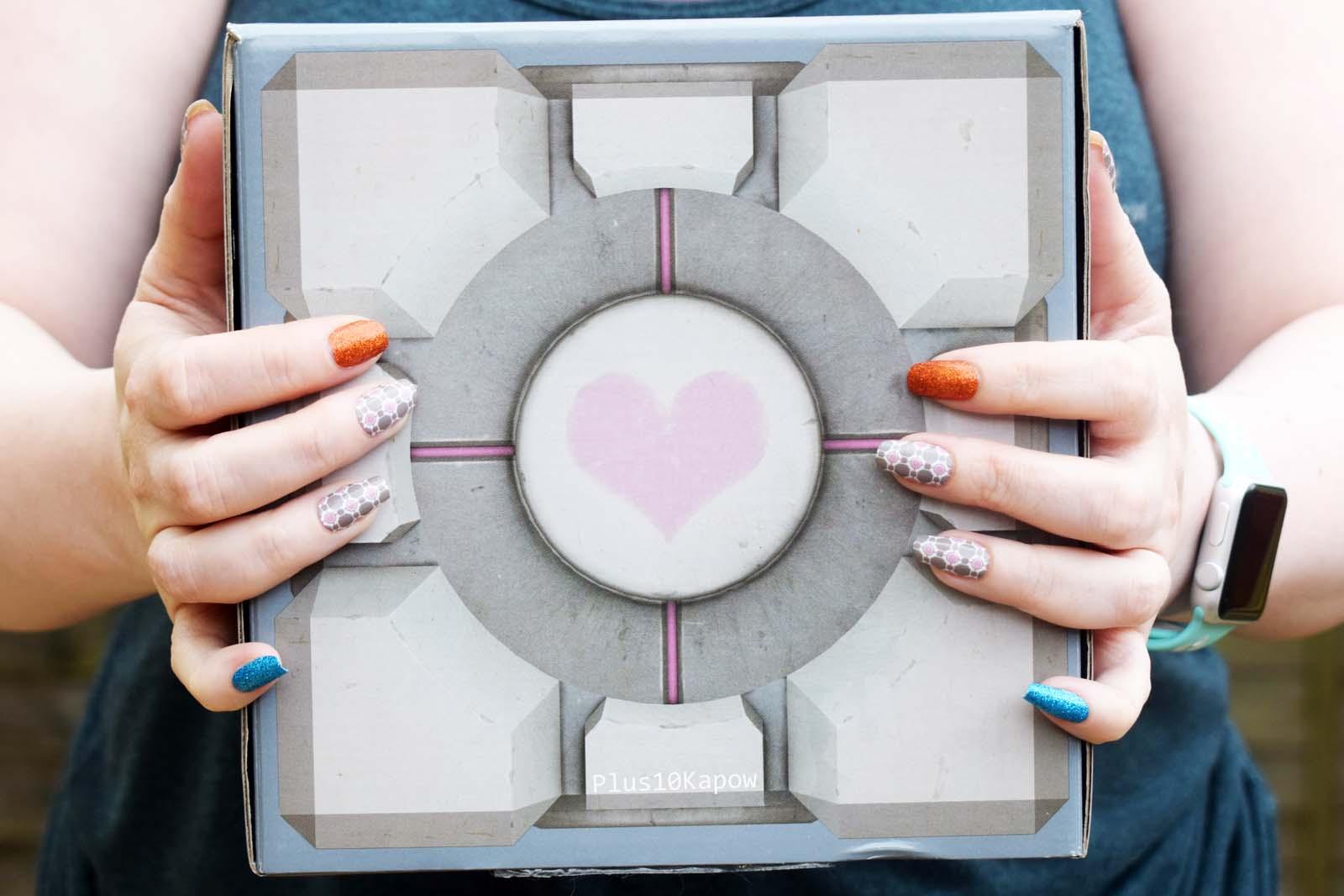 Espionage Cosmetics Buddy Block nail wraps Plus10Kapow