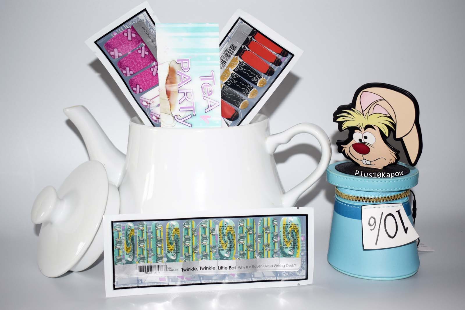 Espionage Cosmetics Tea Party Nail Mail Monthly
