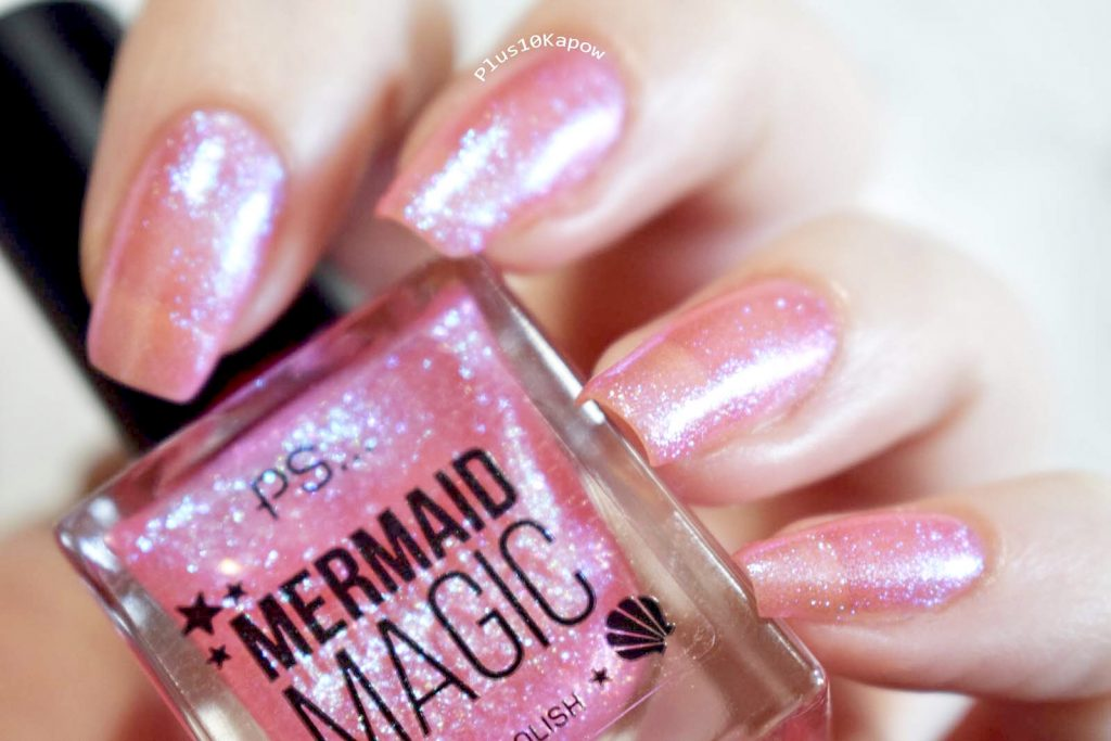 Primark PS Mermaid Magic Nail Polish Coral Swatches