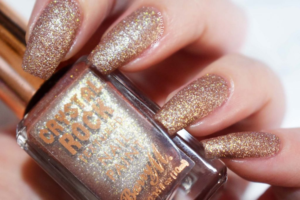 Barry M Crystal Rock Collection Swatches Tiger Eye