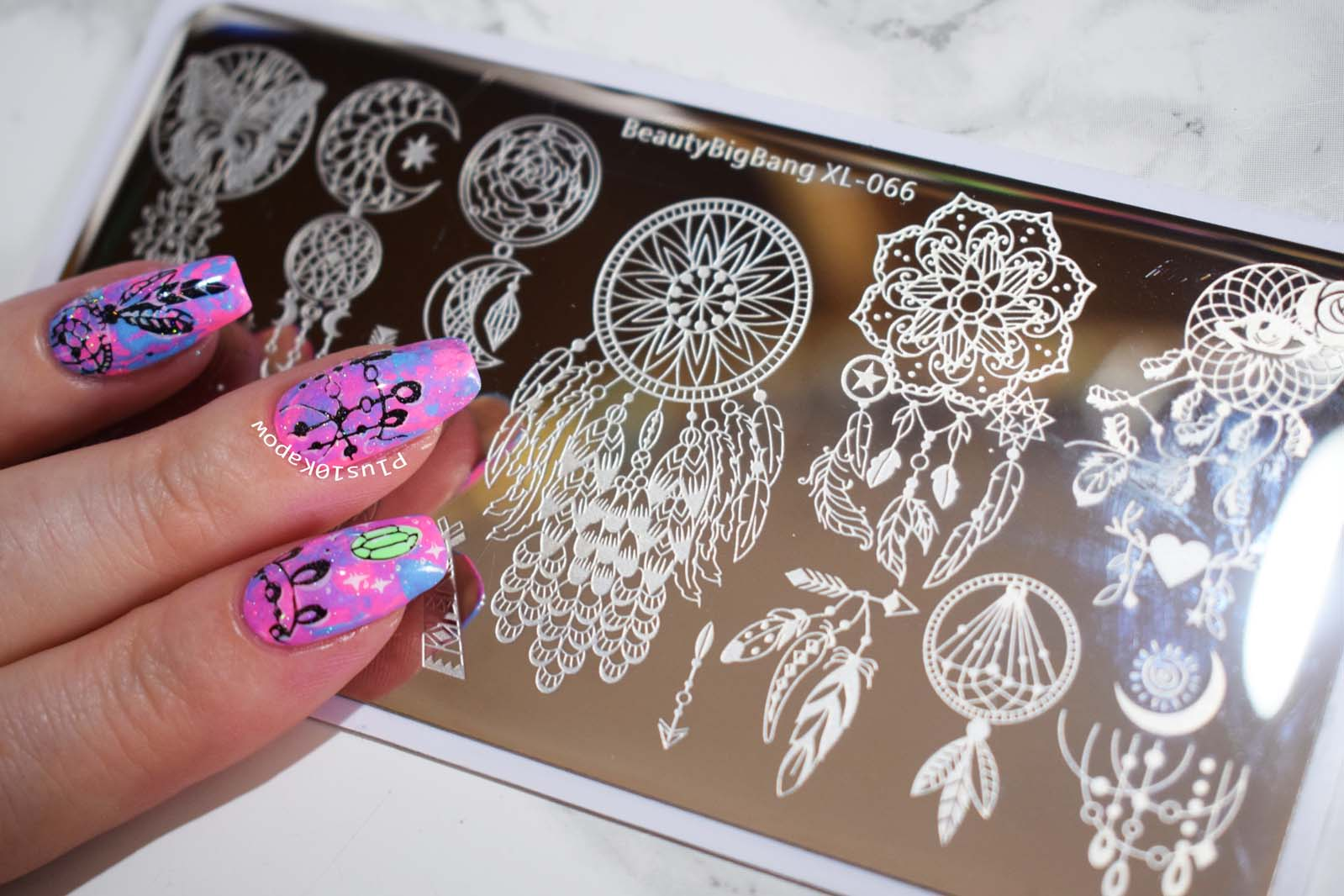 Beauty Big Bang Xl-066 stamping plate