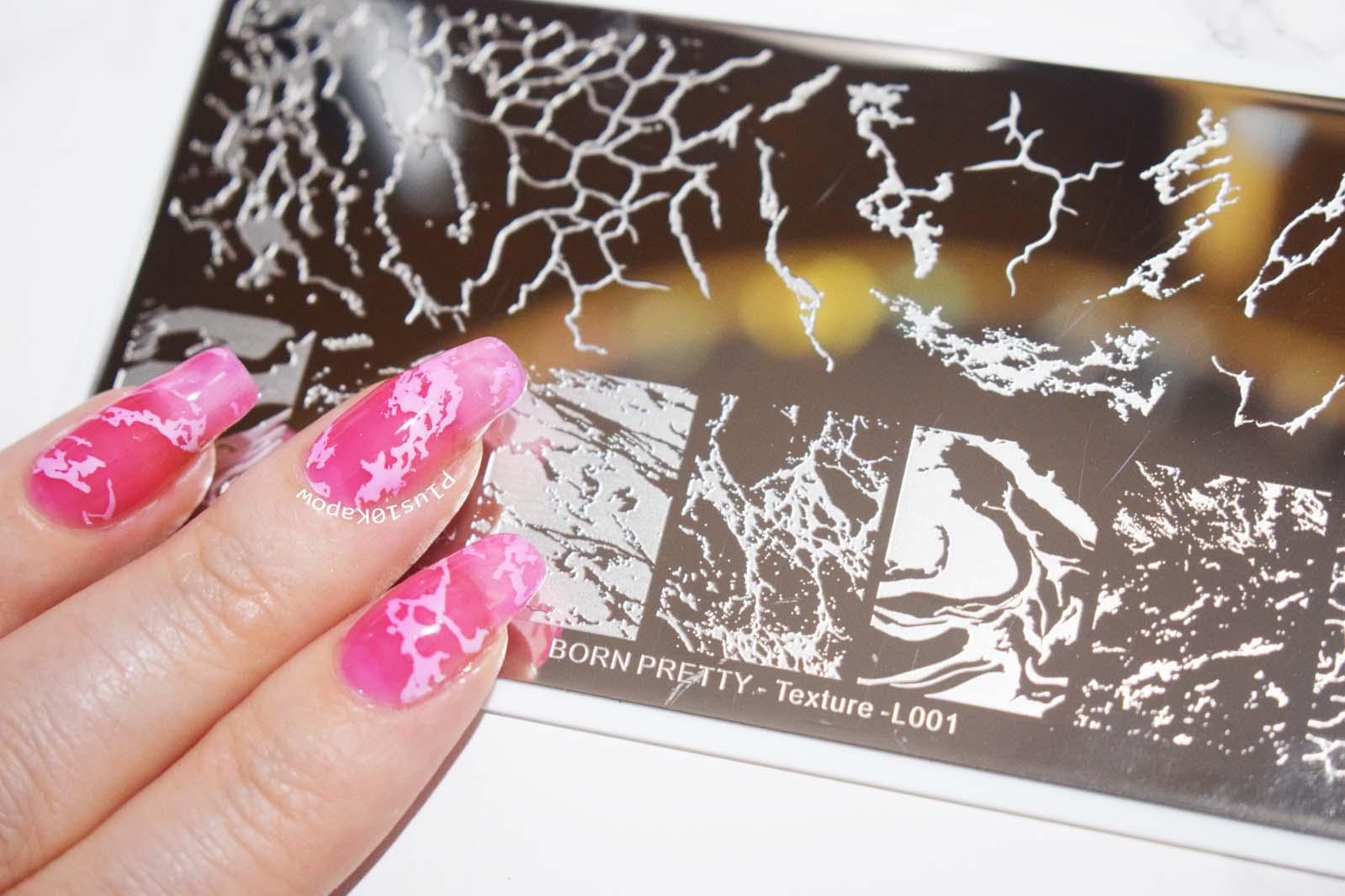 Born Pretty Store L001 Stamping Plate Plus10Kapow