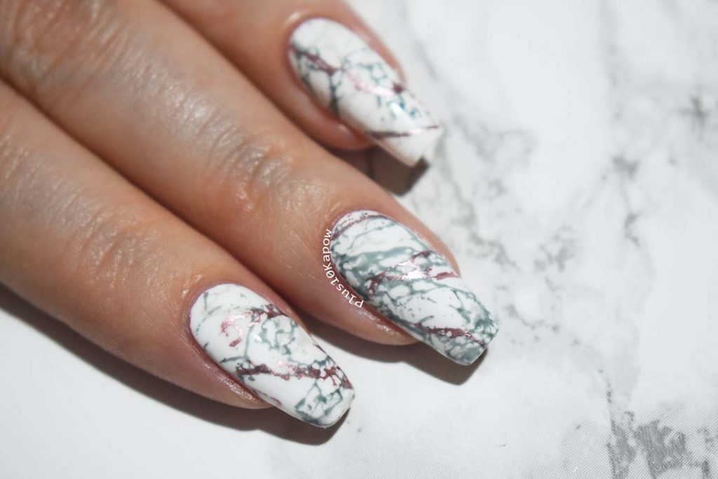 Born Pretty Store Texture L001 stamping Plate Marble Nail Art