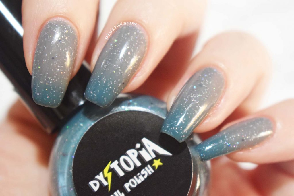 Dystopia Nail Polish Samhain Collection Swatches Turn of the Wheel