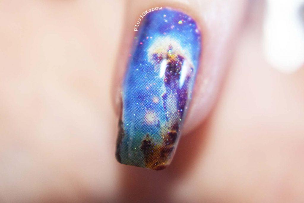 Espionage Cosmetics Eagle Nebula nerdy nail wraps