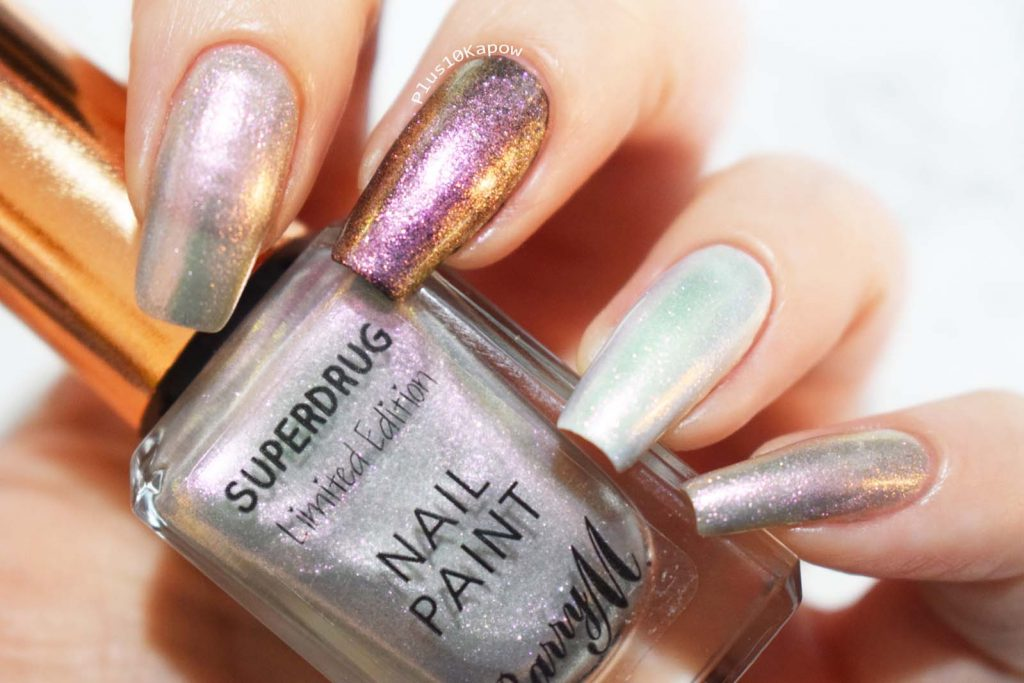 Barry m A/W19 Superdrug Limited Editions Cosmic Dust and Milky Way Swatches
