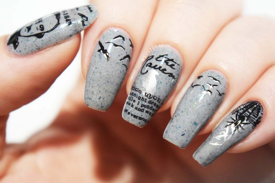 Edgar Allan Poe nails Plus10Kapow