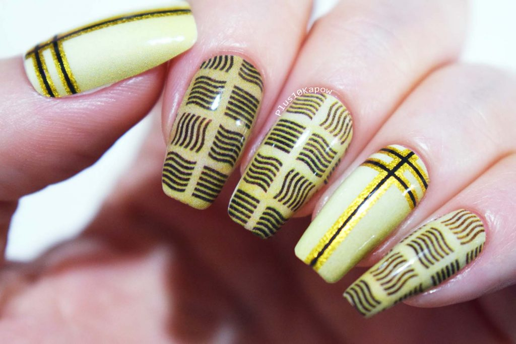 Espionage Cosmetics Supreme Being Fifth Element Nerdy Sci-fi Nail Wraps