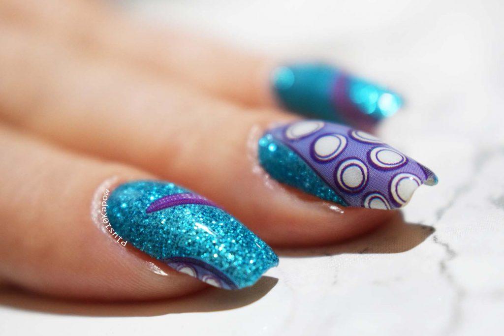Espionage Cosmetics Tentacles nerdy nail wraps