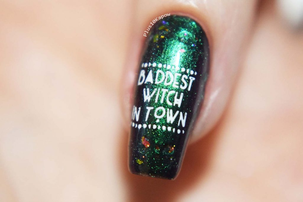 witchy nails Plus10Kapow