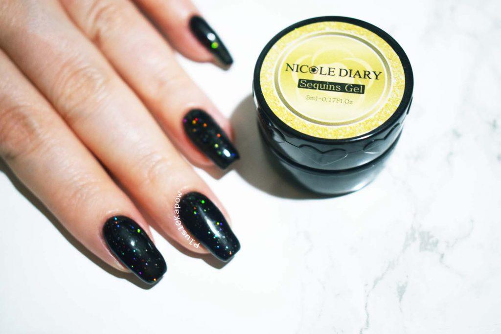 Nicole Diary Sequins Gel ND-S05 from Born Pretty STore