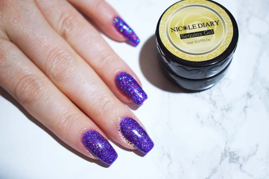 Nicole Diary Sequins Gel S18 from Born Pretty Store