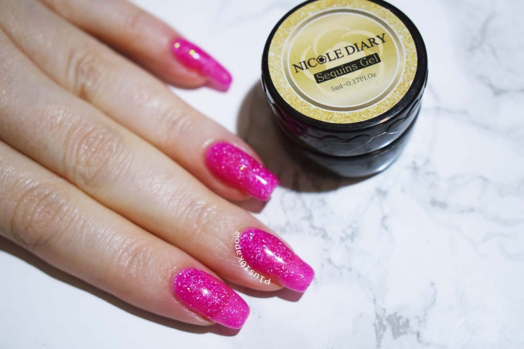 Nicole Diary Sequins Gel ND-S28 from Born Pretty STore
