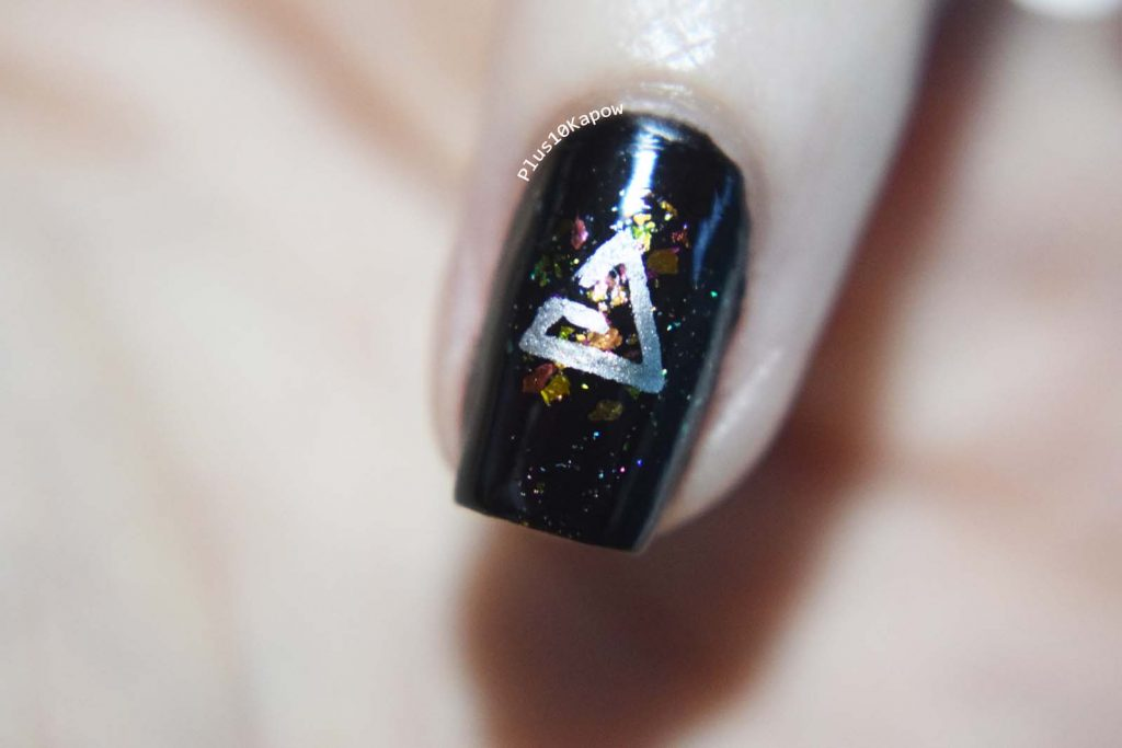 The Witcher Netflix nail art