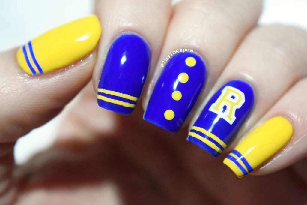 Beauty Big Bang XL-061 Riverdale nails Plus10Kapow