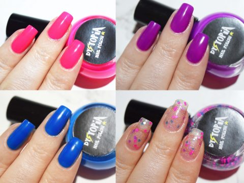 Dystopia Nail Polish Feeling Fruity Swatches Plus10Kapow