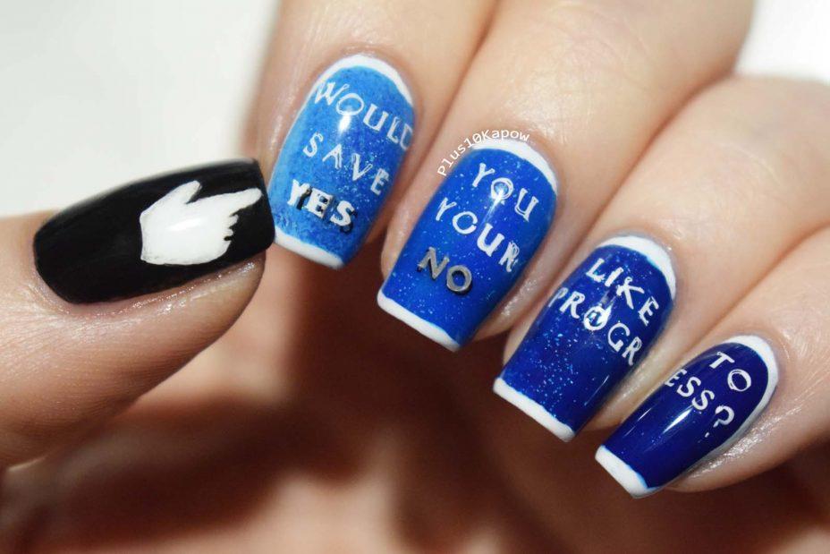 Final Fantasy Nails