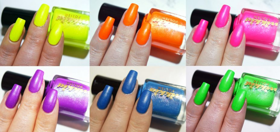 Wikkid Polish All the Fun of the Fair neon collection