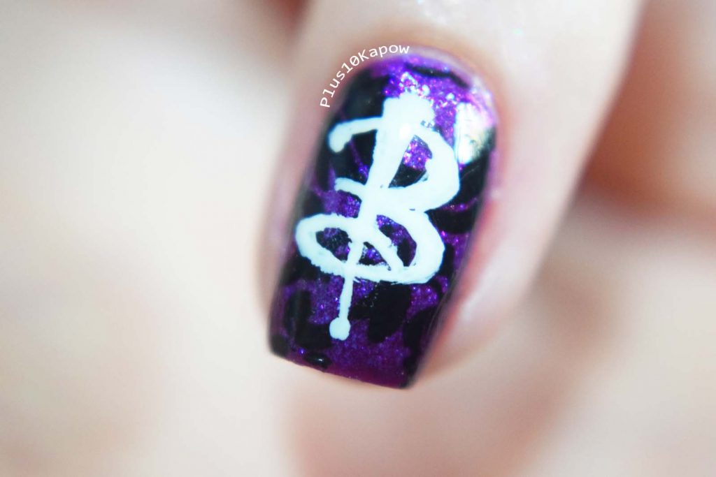 Buffy Inspired nail art