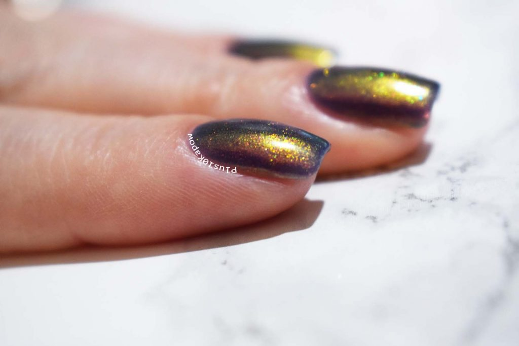 Ethereal Lacquer Exit Gate swatch Plus10Kapow
