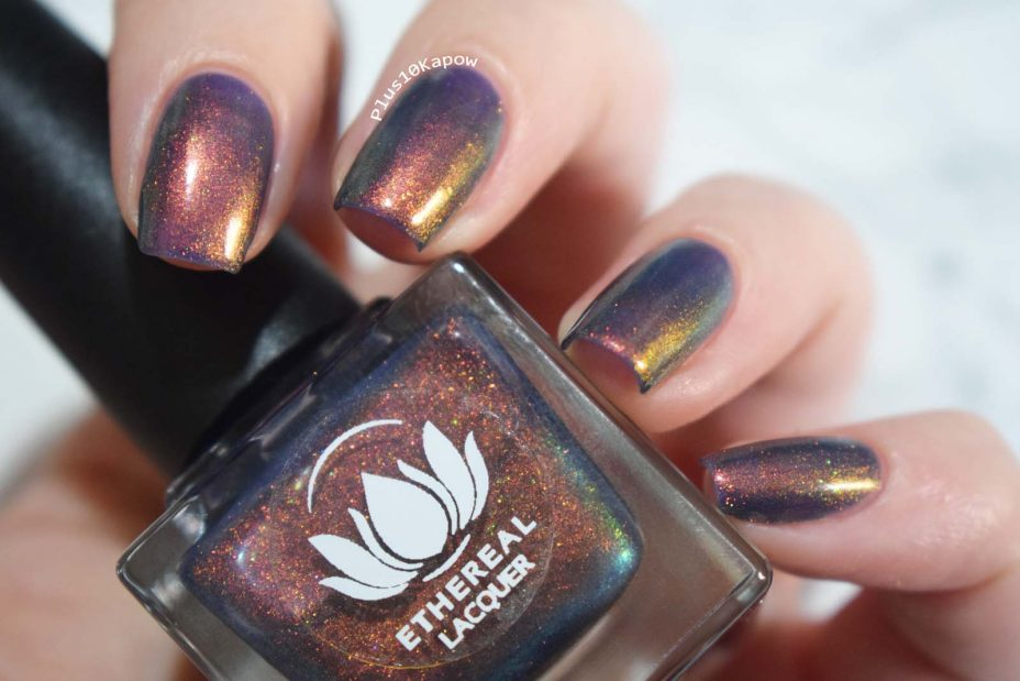Ethereal Lacquer Exit Gate swatch and review Plus10Kapow