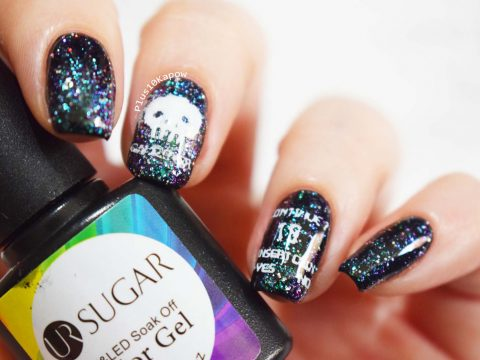 Born Pretty UR Sugar Chameleon Glitter polish 03 Plus10Kapow