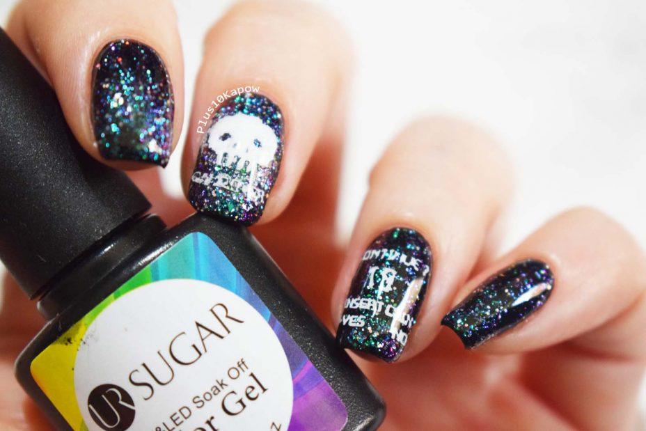 Born Pretty UR Sugar Chameleon Glitter polish 03 Plus10Kapow
